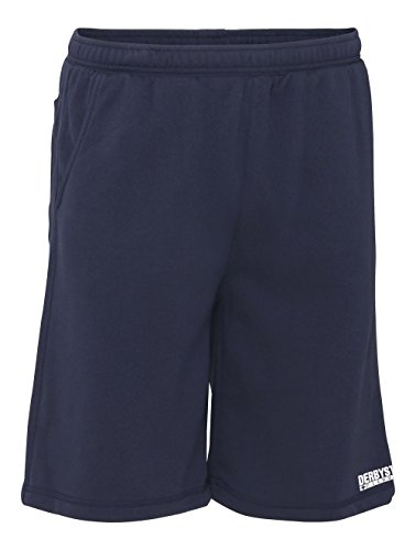 Derbystar Ultimo Sweatshort Unisex Shorts, Navy, M von Derbystar