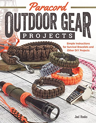 Paracord Outdoor Gear Projects: Simple Instructions for Survival Bracelets and Other DIY Projects von Design Originals