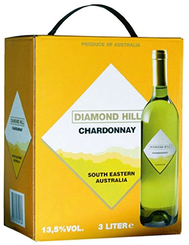 Diamond Hill - Chardonnay Weißwein 13% Vol. - 3l Bag-in-Box von Diamond Hill