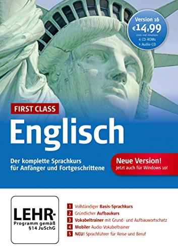 First Class Sprachkurs Englisch 16.0 von Digital Publishing
