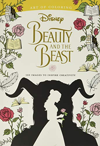 Art of Coloring: Beauty and the Beast: 100 Images to Inspire Creativity von Disney Editions