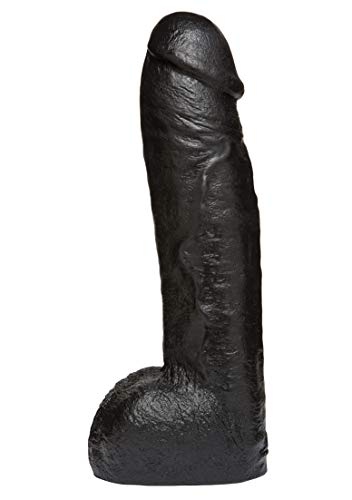 Vac-u-Lock by Doc Johnson black Code Edition - Realistic Hung Cock - 30,7 cm lang - Durchmesser 68 mm von Doc Johnson