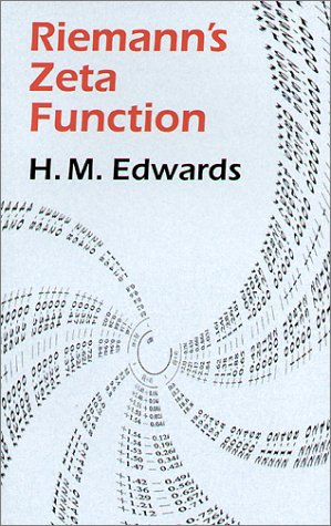 Riemann's Zeta Function (Dover Books on Mathematics) (Pure and Applied Mathematics, Band 58) von Dover Publications Inc.