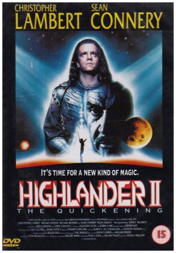 Highlander 2 - The Quickening [DVD] [UK Import] von Entertainment in Video