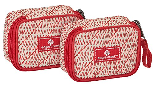 Eagle Creek  Pack-it Original Quilted Mini Cube(XS)2pc Set,  Unisex-Erwachsene Kofferorganizer, Repeal Red (Rot) - EC0A37G3216 von Eagle Creek