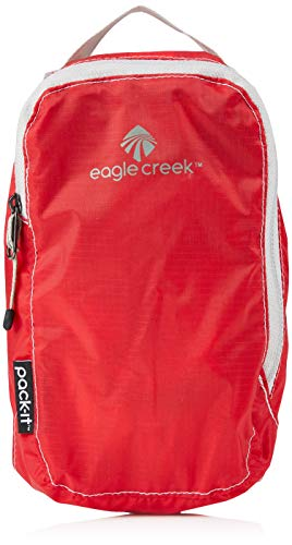 Eagle Creek Packtasche Pack-It Specter Cube Kofferorganizer, 19 cm, 1,2 l, rot/Volcano rot von eagle creek