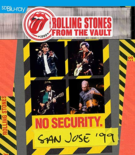 The Rolling Stones - From the Vault: No Security - San Jose 1999 [Blu-ray] von Universal/Music/DVD