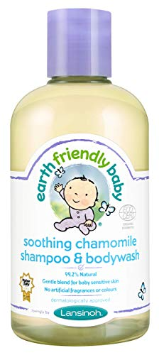 Earth Friendly Baby Kinder Shampoo & Pflegedusche Beruhigende Kamille Kids 250 ml von Earth Friendly Baby