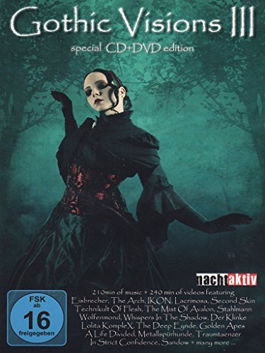 Gothic Visions III (DVD + Audio-CD) von Echozone (Edel Germany GmbH)