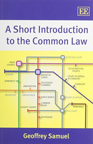 A Short Introduction to the Common Law von Edward Elgar Publishing