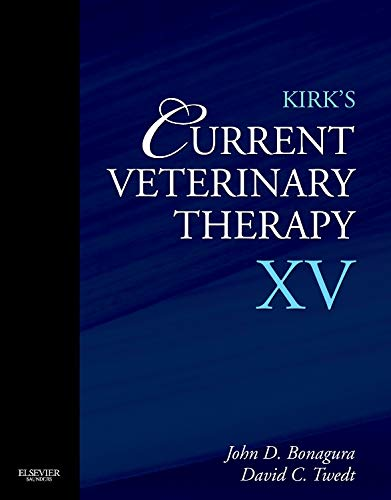 Kirk's Current Veterinary Therapy XV: Small Animal Practice von Elsevier LTD, Oxford