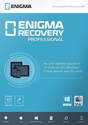 Enigma Recovery - Professional (10 devices / 1 Year) - 10 devices / 1 Year [Mac] von Enigma Recovery
