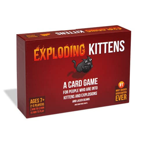 Exploding Kittens: A Card Game About Kittens and Explosions and Sometimes Goats von Exploding Kittens LLC