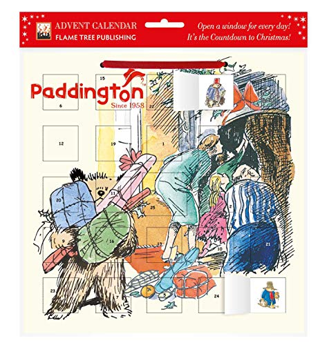 Paddington - Peggy Fortnum advent calendar (with stickers) von Flame Tree Publishing