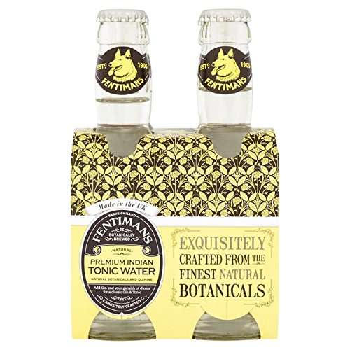 Fentimans Tonic Water FEN-67386 4 x 200 ml von Fentimans