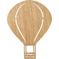 Ferm Living Kinder-Wandleuchte Air Balloon Eiche geölt von Ferm Living