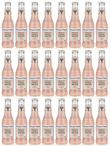 Fever-Tree Aromatic Tonic Water - 24 x 200ml Bottles von FEVER-TREE