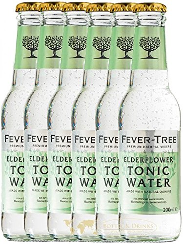 Fever Tree Elderflower Tonic Water 6 x 0,2 Liter von Fever Tree