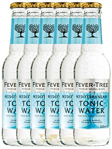 Fever Tree Mediterranean Tonic Water 6 x 0,2 Liter von Fever Tree