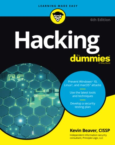 Hacking For Dummies (For Dummies (Computer/Tech)) von For Dummies