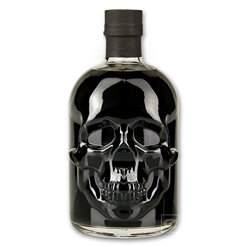 Black Head Absinth 0,5l - Totenkopfflasche - 50 cl - 55% vol. Alc. von Fox Spirits