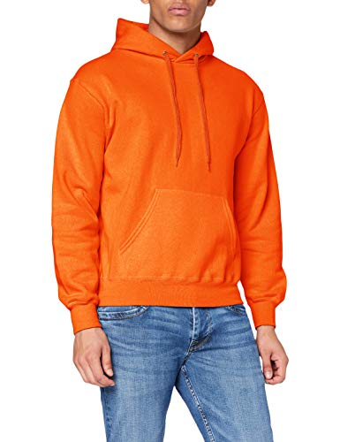 Fruit of the Loom Herren Kapuzenpullover, Orange, 48/50 von Fruit of the Loom