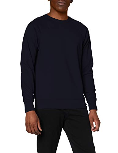 Fruit of the Loom Lightweight raglan sweatshirt Deep Navy 2XL von Fruit of the Loom