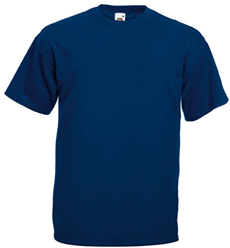 Fruit of the Loom Valueweight T-Shirt Navy S von Fruit of the Loom