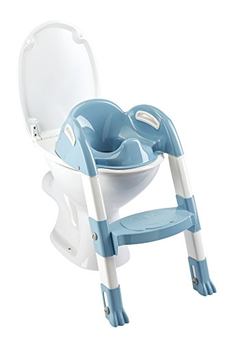 Thermobaby 2172538ALL Kiddyloo Toiletten-Trainer, weiß/blau von Thermobaby