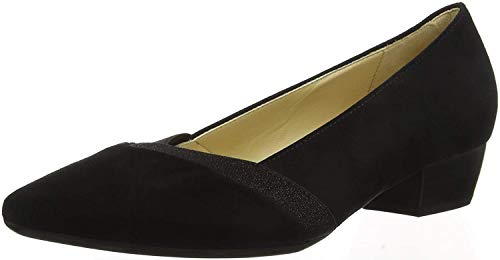Gabor Shoes Damen Basic Pumps, Schwarz 17, 37 EU von Gabor