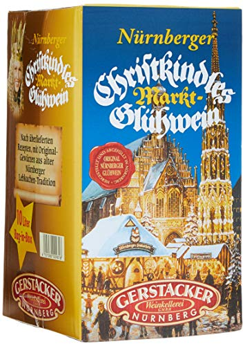 Original Nürnberger Christkindles Markt-Glühwein (1 x 10 l Bag-in-Box) von Gerstacker