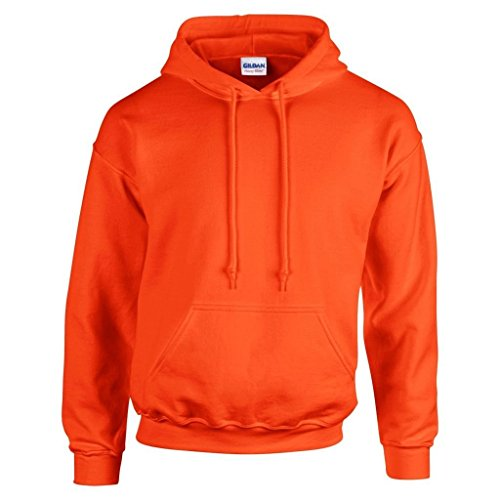 """Gildan GD057 Kapuze-Sweatshirt """"Heavy Blend"""" Gr. Large, Orange"" von Gildan"