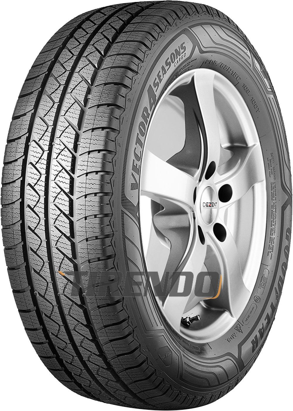 Goodyear Vector 4Seasons Cargo ( 225/65 R16C 112/110R ) von Goodyear