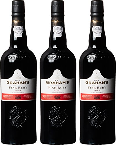 Graham's Fine Ruby Port Lieblich (3 x 0.75 l) von Graham's Fine Ruby Port