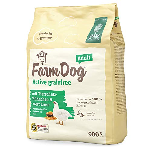Green Petfood: Farmdog - Active grainfree Adult 900g von Green Petfood FarmDog