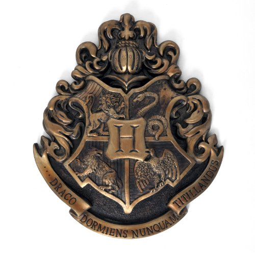 Harry Potter - Hogwarts Wappen Wandbild Metall 28 x 30 cm von Harry Potter