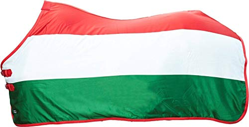 HKM Abschwitzdecke -Flags-, Flag Hungary, 145 von HKM SPORTS EQUIPMENT
