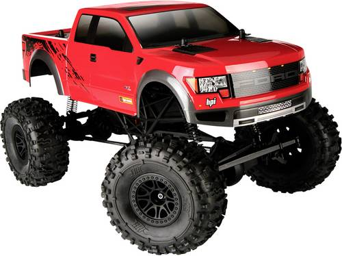 HPI Racing Crawler King Ford F150 Sv Raptor Brushed 1:10 RC Modellauto Elektro Monstertruck Allradan von HPI Racing