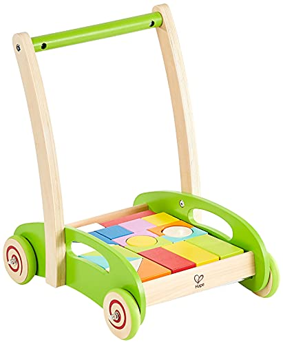 Hape E0371 - Bau Wagen von Hape International