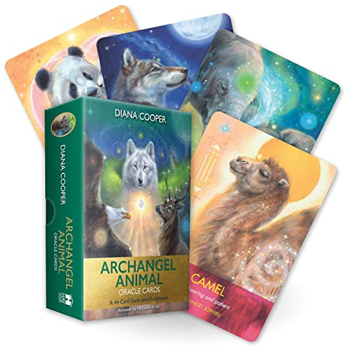 Archangel Animal Oracle Cards: A 44-Card Deck and Guidebook von Hay House UK