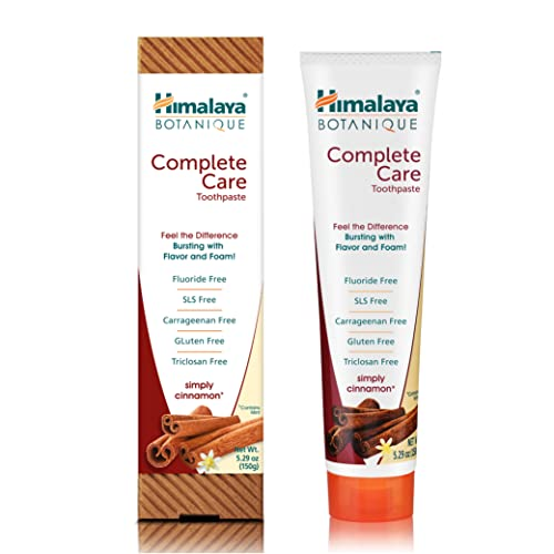 Himalaya Botanique Whitening Complete Care Simply Cinnamon Zahnpasta 150 g von Himalaya