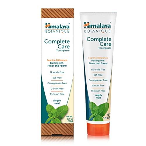 Himalaya Botanique Whitening Complete Care Simply Mint Zahnpasta 150 g von Himalaya