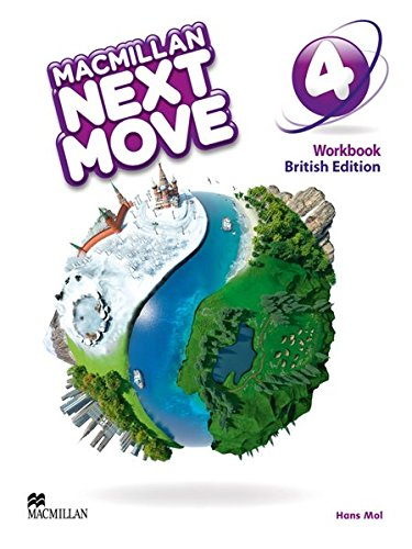 Macmillan Next Move 4: British Edition / Workbook von Hueber Verlag