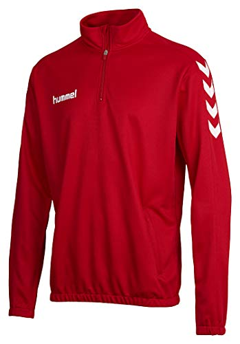 Hummel Herren Sweatshirt Core 1/2 Zip, True Red, M, 36-895-3062 von Hummel