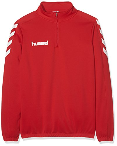 Hummel Jungen Sweatshirt Core 1/2 Zip, True Red, 164-176, 36-895-3062 von Hummel