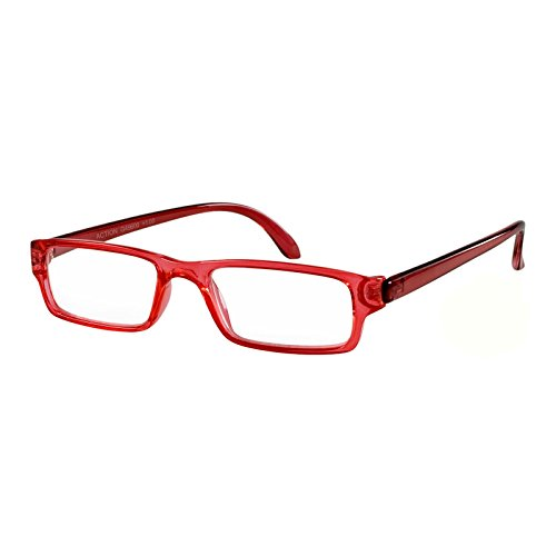 I Need You Lesebrille Action / rot-kristall / +1.5 Dioptrien von I Need You