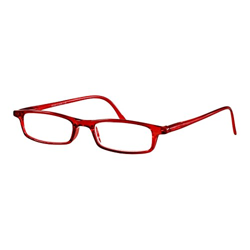 I NEED YOU Lesebrille Adam / +4.00 Dioptrien / Rot von I Need You