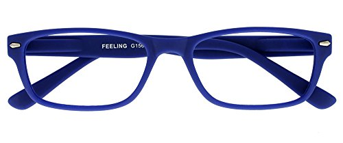 I NEED YOU Lesebrille Feeling, +2.00 Dioptrien, blau von I Need You