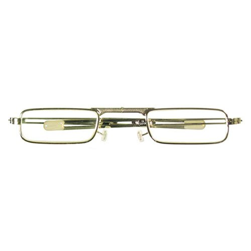 I NEED YOU Lesebrille Fire / +3.00 Dioptrien / Gold, 1er Pack von I Need You