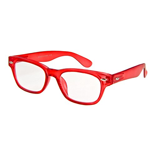 I NEED YOU Lesebrille Woody Limited / +3.00 Dioptrien / Rot, 1er Pack von I Need You
